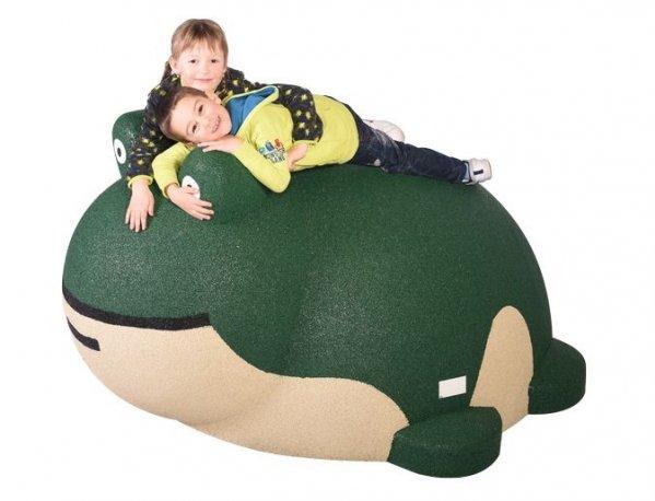 Figura gumowa na plac zabaw Żaba