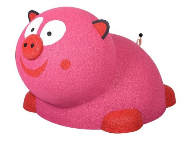 Figura gumowa na plac zabaw Mini Świnka