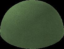 Gumowa półkula zielona