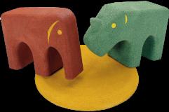 Zwierzęta gumowe EPDM