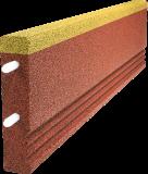 Krawężnik elastyczna z warstwą EPDM